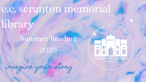 Summer Reading 2020 theme is imagine your story